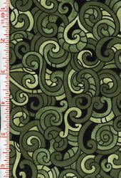 Maori designed koru and kowhaiwhai patterns on patchwork fabric from Kiwiquilts for you New Zealand quilts. Maori Designs, Vintage Patches, Kiwiana, Patchwork Fabric, Shades Of Green, Swirls, Quilt Patterns, Cotton Fabric, Quilts