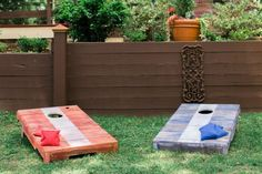 14 insanely awesome and fun backyard games to DIY now! #DIYgames #backyardgames