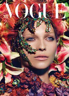 The FashionBirdcage: German Vogue Swarovski Horoscope 2013