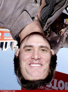 Jim Carrey Upside Down