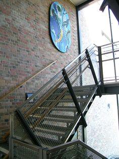 Nyborg skole (2004) – ARC arkitekter Stairs, Stairway, Staircases, Stairways, Ladders
