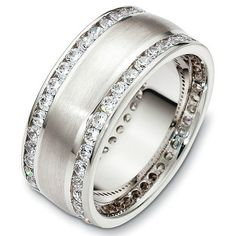 Image result for Thick Vintage Diamond Wedding Bands for Women ...