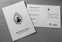 Performance Lírica 24 poemas audiovisuales  Una propuesta poética contemporánea que pretende clonar el tempo y la musculatura del verso en acción sonora y visual.     Carlos Barral: Concepto, poesía, recitado  Roberto Lorenzo: Visual & gráfica Sergio Rodríguez: Música & corpus sonoro