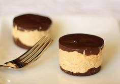 Chocolate Peanut Butter Mousse Cake