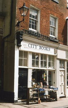 "City Books in Rochester. This is exactly what I imagine when I hear ""City Books"""