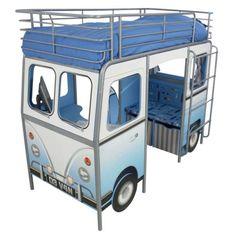camper van-cabin bed