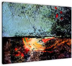 Two worlds. Abstract art duo