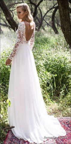 222 beautiful long sleeve wedding dresses (23)