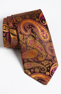 Etro Woven Silk Tie available at Nordstrom