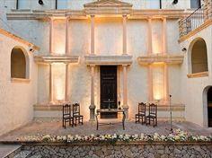 Pueblo Acantilado Outdoor // Anfiteatro. Decoración tipo boda