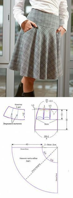 Amazing Sewing Patterns Clone Your Clothes Ideas. Enchanting Sewing Patterns Clone Your Clothes Ideas. Diy Clothing, Sewing Clothes, Clothing Patterns, Dress Patterns, Sewing Patterns, Pattern Skirt, Pants Pattern, Women's Clothes, Fashion Sewing