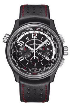 Jaeger-LeCoultre AMVOX5 World Chronograph Aston Martin Cermet Watch JLC193A470