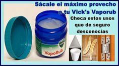 Todos sabemos el famoso 1, 2, 3 del ungüento Vicks Vaporub y que te sirve para aliviar algunos síntomas de la gripe, peroacáte dejo otros usos quepuede que no conozcas y que es buenísimo saber