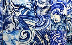 The Art of Adriana Varejão Surrounds a Rio Olympics Aquatics Stadium