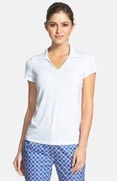 LIJA Johnny Collar Polo Tennis Tops, Collar, Nordstrom, V Neck, Shopping, Women, Fashion, Moda, Fashion Styles