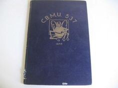 Sold: Vintage-1944-USA-Navy-Military-Seabees-WW-2-WW-ll-yearbook-Photos-CBMU-537
