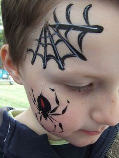 Image detail for -Kids Face Painting Melbourne Body Art - Chameleon Face and Body
