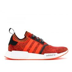 new styles 787e0 167a4 Adidas NMD Boost - Billig Adidas NMD R1 PK NYC Rod APPLE Rod Hvid Sort  Sneakers