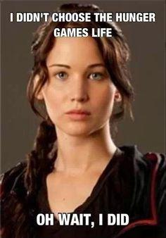 Lol haha funny / Hunger games Humor / Katniss