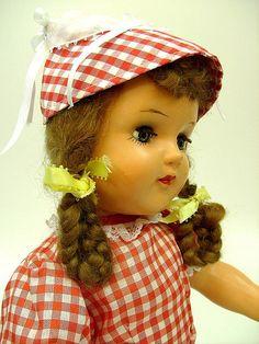 Vintage doll 60s