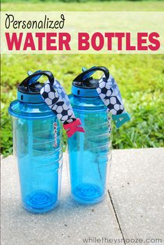While They Snooze: Personalized Water Bottles for Game Day