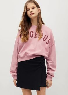 Ruched detail skirt - Teenage girl | Mango Kids India Teen Fashion Outfits, Girl Fashion, Teen Skirts, Floral Print Skirt, Benetton, Manga, Guess Jeans, Printed Skirts, Mannequin
