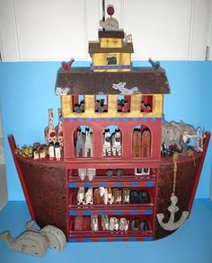 Millwood Company - Barry Grosscup - Maurice Dallas 5-Storied Noah's Ark.