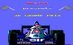 3D Grand Prix # Amstrad cpc 6128