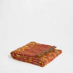 PAISLEY WOOL BLANKET - Blankets - Bedroom | Zara Home Turkey