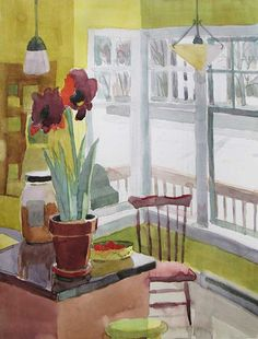 Carole Rabe - Fine Artist in Painting - Works on Paper