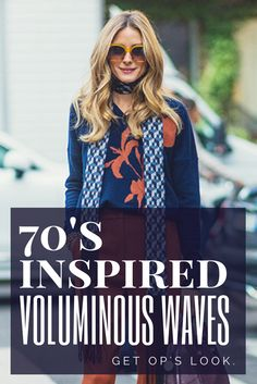 The 70's are back. Embrace the trend with these gorgeous waves--a simple yet cool look for any decade.