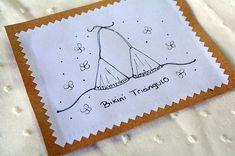 Tutorial molde Triángulo Bikini. Aprende a hacer el molde del Triangulo Bikini en cualquier talle con este tutorial fàcil y en 6 pasos! Bikini 2018, Swimsuits, Bikinis, Sewing Patterns, Projects To Try, Crochet, Diy, How To Make, Mood