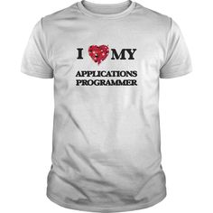 I love my Applications Programmer - A perfect gift for you,a hard working family member or friend you care about. Thank you so much for visiting my page. (Related terms: I love my Applications Programmer,Applications Programmer,applications programmers, and job market computer programming  gatives at campaign-level  )