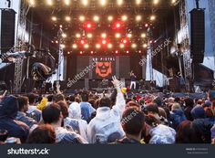 Bontida, Romania - July 16, 2016: Crowd Of People At Dub Pistols Live Concert At Electric Castle Festival, One Of The Biggest Music Festivals In Romania Stock Photo 470543024 : Shutterstock