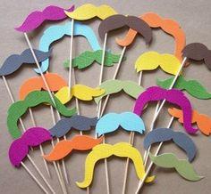 photos moustaches couleurs