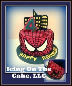 Spider-Man cake to start the hectic baking week off! www.facebook.com/icingonthecake1