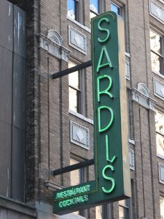 The famous Sardi's - 2nd trip to Sardi's: I collided with Carol Channing - she was gracious as ever. With Elsie, [Bobbie] and Carole on our way to Europe in our little black dresses ...we got the center round 1st floor table! Up all night dancing then walked barefoot to the hotel on upper East Side with kind police escort at 5am ...singing B'way tunes.