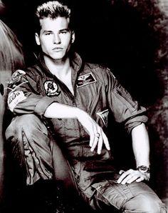 "Val Kilmer Made his big break in Hollywood as Iceman in ""Top Gun."