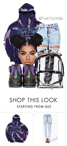 """""""Prince ~ Purple Rain"""" by fvshtionkilla ❤ liked on Polyvore featuring Gucci"""