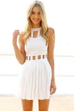 Lita Cage Dress