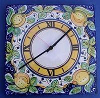 Limone Square Wall Clock