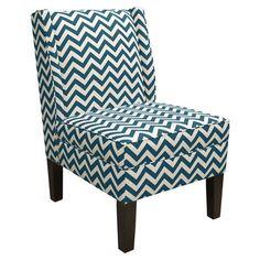 Skyline Furniture Wingback Slipper Chair | Wayfair