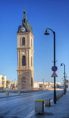 Jaffa Clock Tower by Noam Armonn Monuments, Arte Judaica, Israel Palestine, Jaffa Israel, Tel Aviv Israel, Promised Land, Holy Land, Jerusalem, Middle East