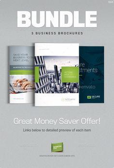 Business Brochure Bundle Vol. 4-6-7 - Corporate Brochures
