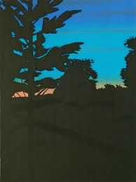 Alex Katz, twilight