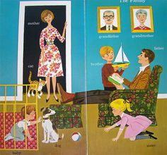 The family From Words (a Golden Book) by Joe Kaufman, 1963.