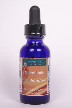 Combination Mineral Salts Schussler