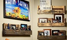 28 Best way to Decorate Your House with Pallet Shelves