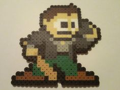 Frank West Bead Sprite Necklace from Dead Rising by OCBeadSprites