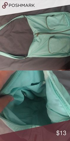 Purse Good condition, barely used, mint green Claire's Bags Crossbody Bags